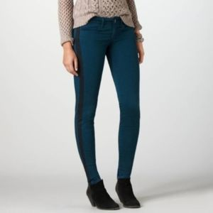 American Eagle Outfitters Pants & Jumpsuits - American Eagle | Teal Tuxedo Stripe Jeggings